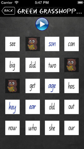Sight Word Sounds